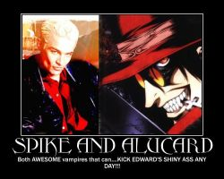 Spike and Alucard by PIPIpanda