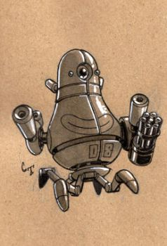 Robot a Day 08 by ChadTHX1138