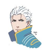 Vergil by Valdathereaper