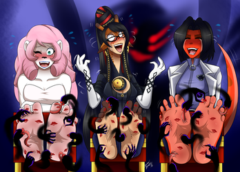 Red-Moai Halloween Stock Commission by LoverBoySora