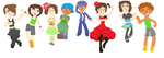 Wii Fit Dance Teachers by MirabelleLeaf31