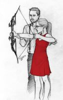 you're the target that i'm aiming at by artgyrl