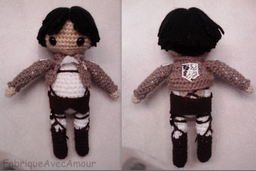 SNK Levi Doll by LucarioFan1996
