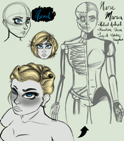Nurse Marsa Concept Sketches by SavannaEGoth