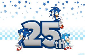 Sonic 25th Anniversary by sonic75619