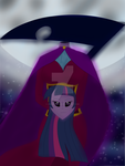 Dullahan Twilight Sparkle by CrimsonGlow