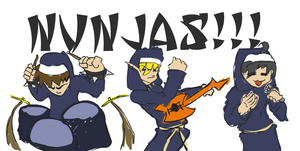 NUNJAS  BAND by out-hell-f