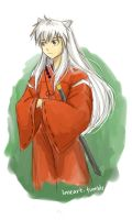Inuyasha sketch by compoundbreadd