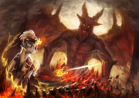 The Battle Against The Demon Lord by TGerror