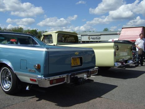 pick up ELCAMiNO REAR view by Sceptre63