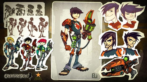 Slugterra Development 1 by CreatureBox