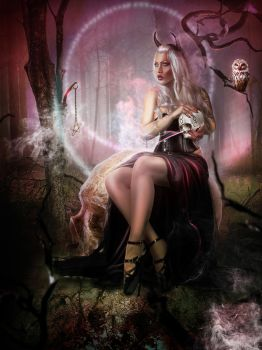 Witches of the Pentagram 4 by ED-Creations