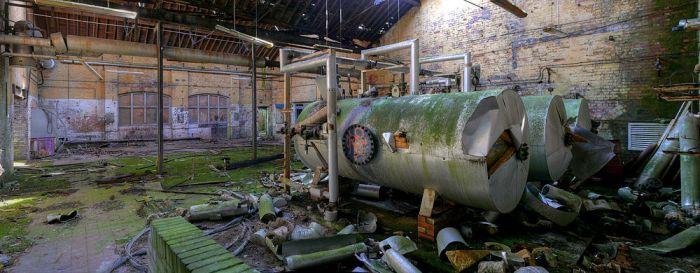 The Boiler Room by wreck-photography