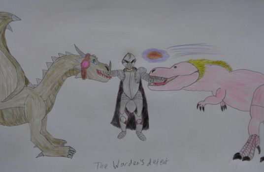 The Warden's Defeat by woodywoodwood