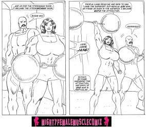 Lady Of The Jungle Issue 1 Sample 4 by SteeleBlazer84