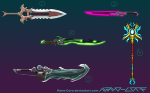 Old weapon adopts SALE! (closed) by Nano-Core