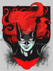 batwoman by aethibert Colors by Drakelb