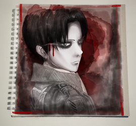 Levi Ackerman - Stain by Pearlonthesea