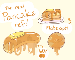 The Real Pancake Reference Sheet by MurattiCat