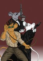 Happy Biker Mice Halloween by Ferai