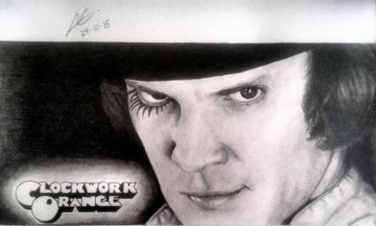 Malcolm McDowell as Alex by aletss98