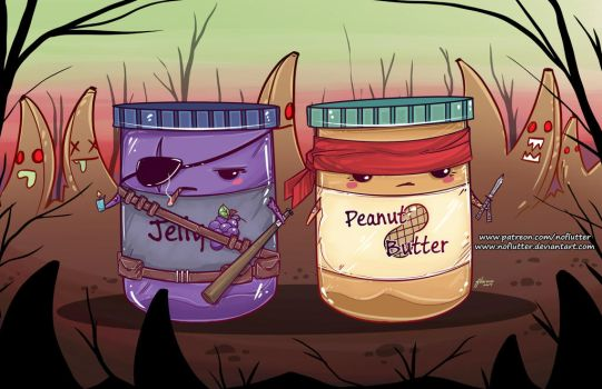 Peanut Butter Jelly Time by NoFlutter