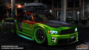 Dodge Charger SRT8 ShowCar by x-tomi