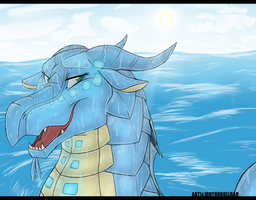 Out for a Swim by RhynoBullraq