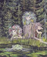 Forest spirits by MorMoraIG