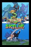 New comic series Journey to the Skyline by Gx3RComics
