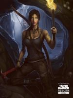 Tomb Raider REBORN. Lara Croft. by 7days7sins