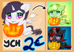 Halloween YCH by TokoKami