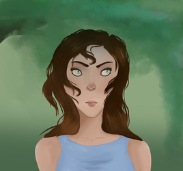 First attempt at digital painting. by 0-Echo-0