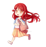 What is in the bag, Riko-chan?