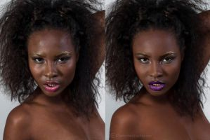Beauty 7 Before and After by lightplutonium