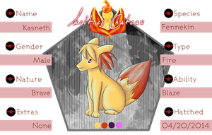 PKMNation - Kas Reference Sheet by maybarros