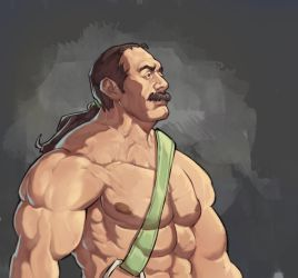 Haggar - Final Fight by Mick-cortes