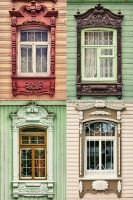 Russian wooden architecture by Ur6o