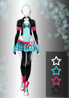 (closed) Adopt Auction - Outfit - Clex by CherrysDesigns