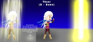 Micaiah Moveset B Down: (Thani) by ThanyTony