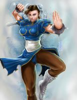 Chun-Li by CARFillustration