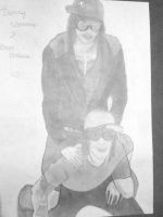 Danny Worsnop and Ben Bruce by dropxdead78