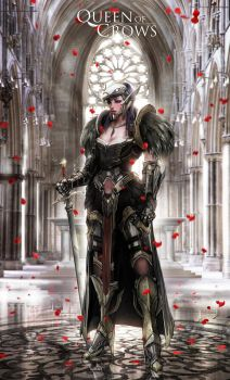 Queen of Crows - Hall by johnsonting