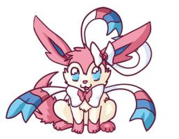 Sylveon chibi by faeore