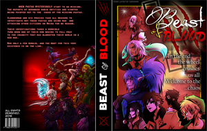 Creepypasta: Beast of Blood COMIC BOOK COVER by Dav-Ink