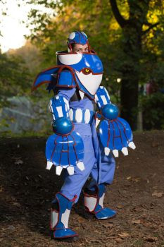 Kyogre Cosplay by ketmisch
