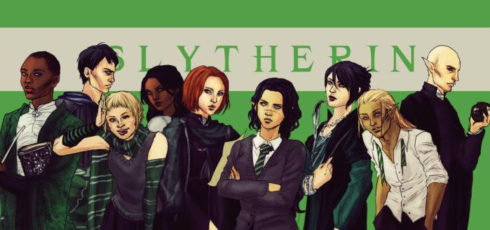 DA [HP CROSSOVER] - Team Slytherin by K-yon
