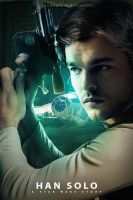 Han Solo Fanmade Poster by punmagneto