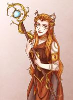 Keyleth - Critical Role by riku-gurl