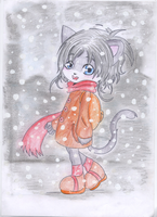 :.Mad in the snow :. by xXMadyXx